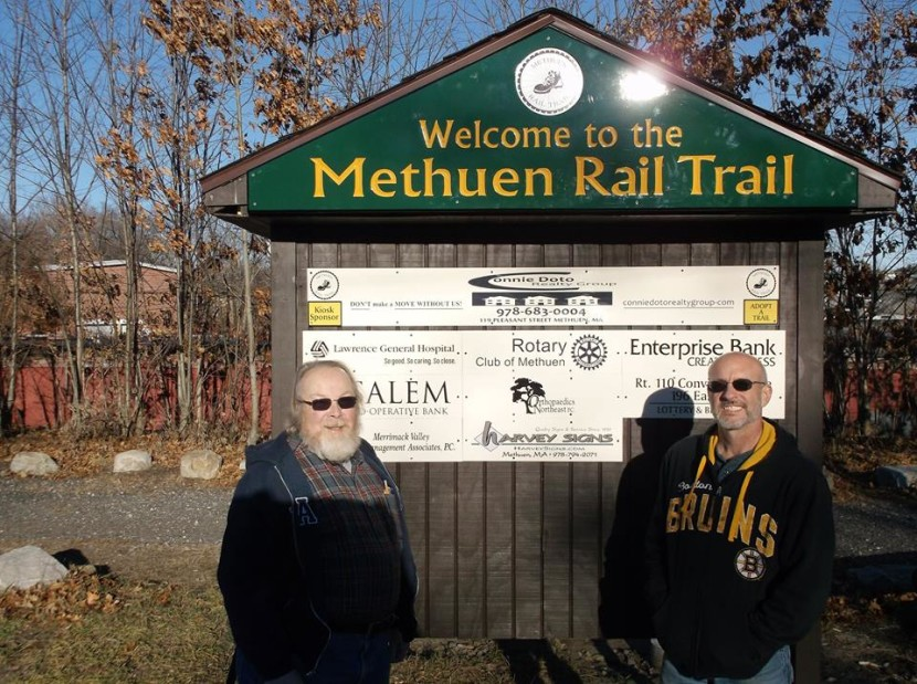 Methuen Rail Trail friends